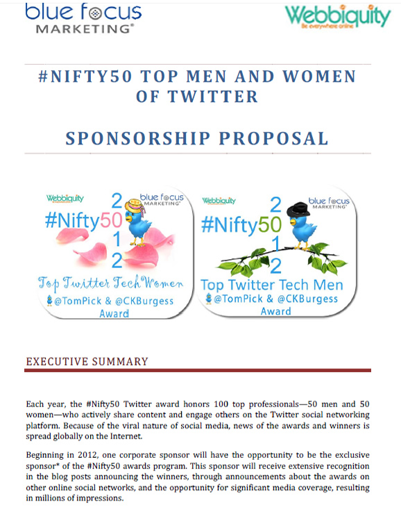 Nifty50_Sponsorship Proposal_Cover_20120521