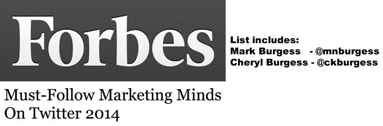Forbes Must Follow Marketing 2014 mnb ckb