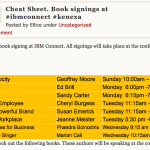 IBM Book Signing