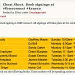 IBM Book Signing