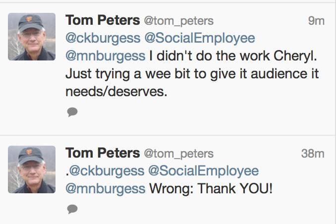 Tom Peters Audience