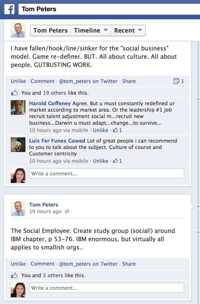 Tom Peters FB Study Groups  copy