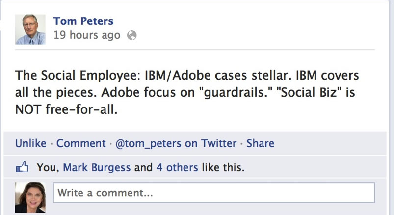 Tom Peters IBM Adobe Case Studies F