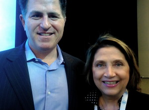 Michael Dell and Cheryl_ES_2013