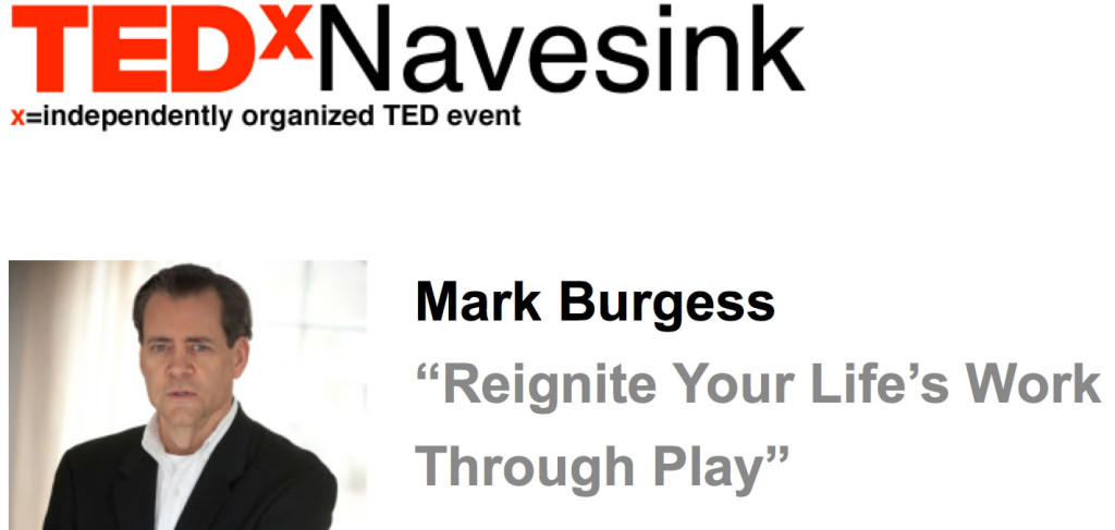TEDxNavesink Mark Burgess Blue Focus