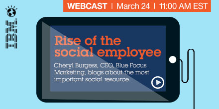 IBM Rise of Social Employee Banner