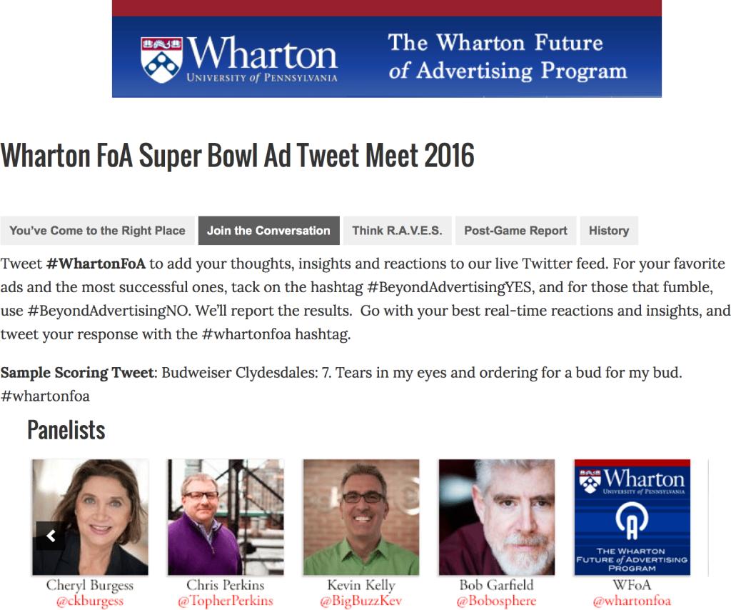 WhartonFoA SuperBowl 2016 Cheryl Burgess