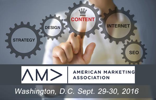 AMA Content Marketing Banner
