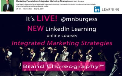 Announcing NEW LinkedIn Learning Online Course: Integrated Marketing Strategies by @mnburgess