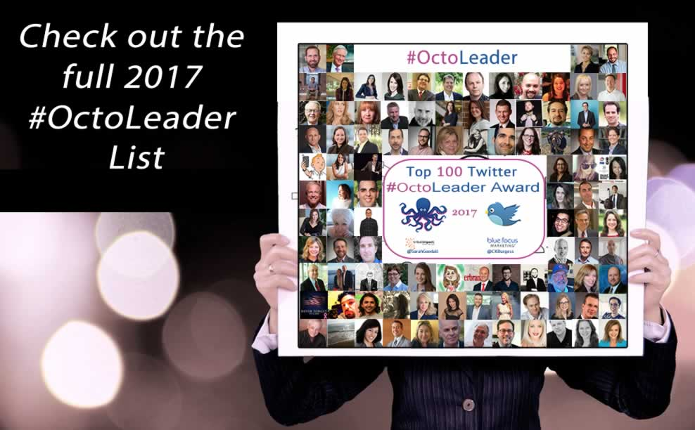 Marketing Leadership Is All About Reach: Celebrating the 2017 #OctoLeader Winners