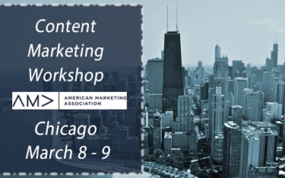 How to Build Your Content Marketing Strategy – Still time to register for AMA's #ContentMarketing Workshop